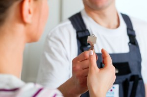 locksmith working. By Working With A Professional Locksmith Service Like Costa Mesa , We Can Take Care Of All Your Security Matters